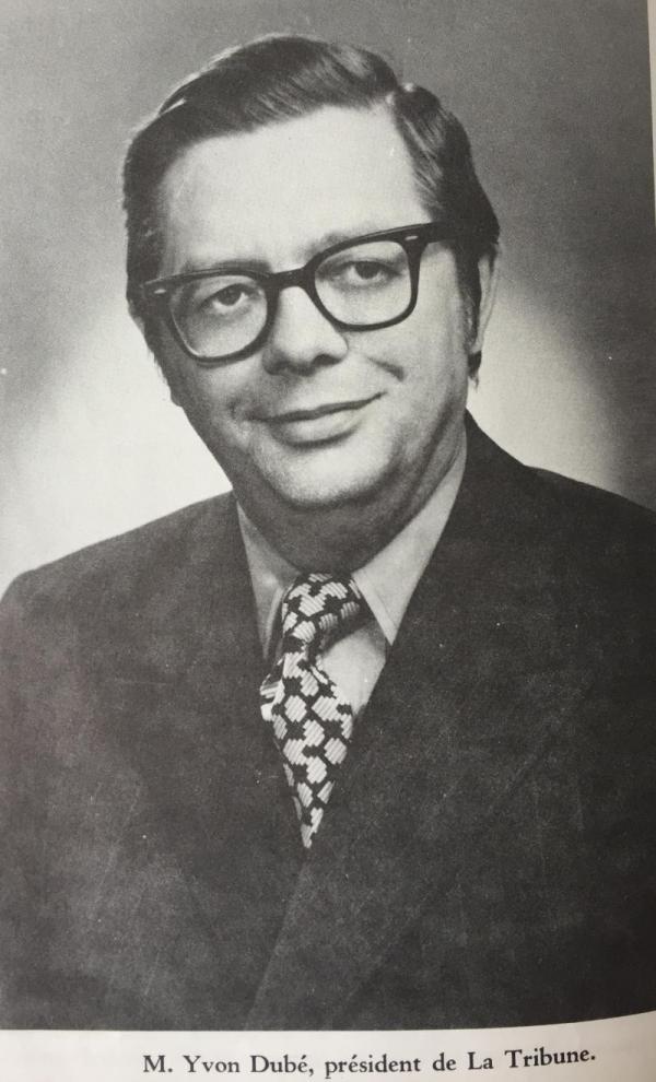 M. Yvon Dubé