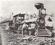 1er Train 1853 à Coaticook